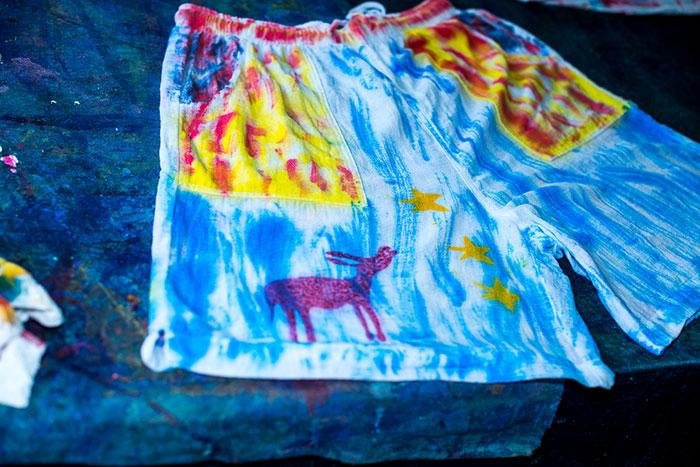 Sloop Jones Workshop Final Product: Beach Shorts