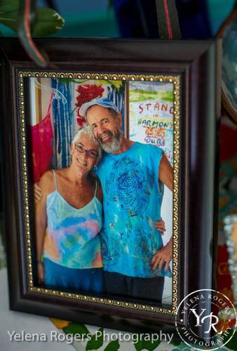 A Framed Photo of Sloop and Barbara