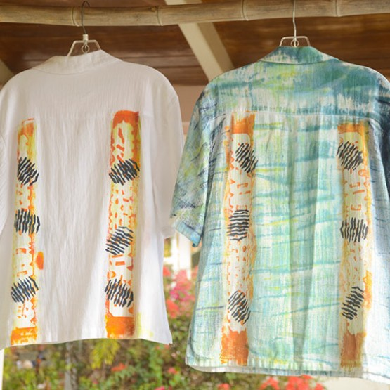 Guayabera Shirts in Gold Collection