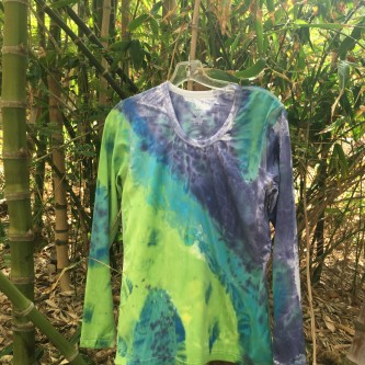 Purple sky rash guard