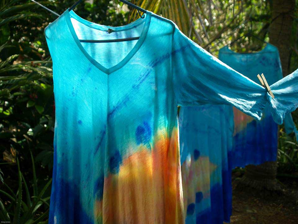 Wearable Art Hanging to Dry