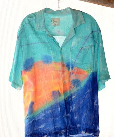 Aqua Coco Men's Tropical Cotton Shirt