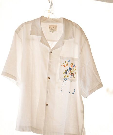 Sloop Jones Camp Shirt in Pennsyltucky Popcorn Color Collection