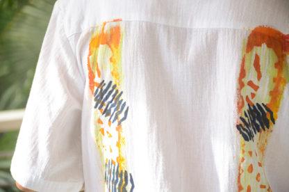 Guayabera Shirt in Gold