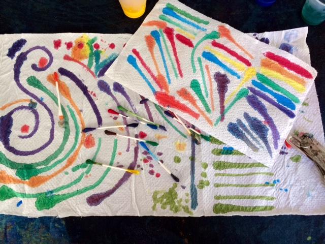Sloop Jones Workshop Paper Towel Palette