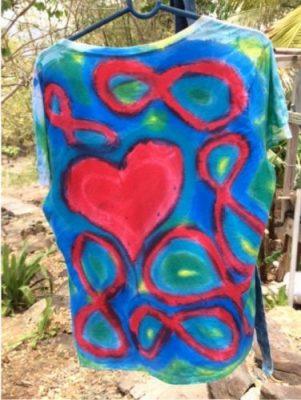 Sloop Jones Paint a Shirt of Art