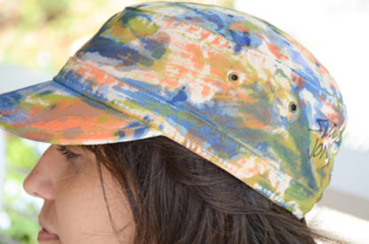 Canvas Cadet Cap in Pennsyltucky Blu Color Collection