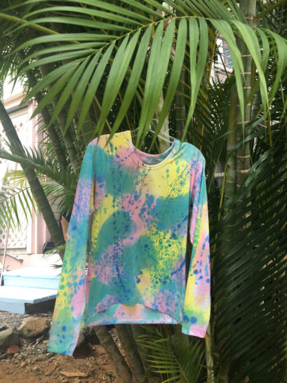 Rashguard in Parrot Fish