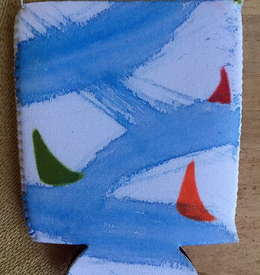 Sloop Jones Coozie in Sailing Collection, front